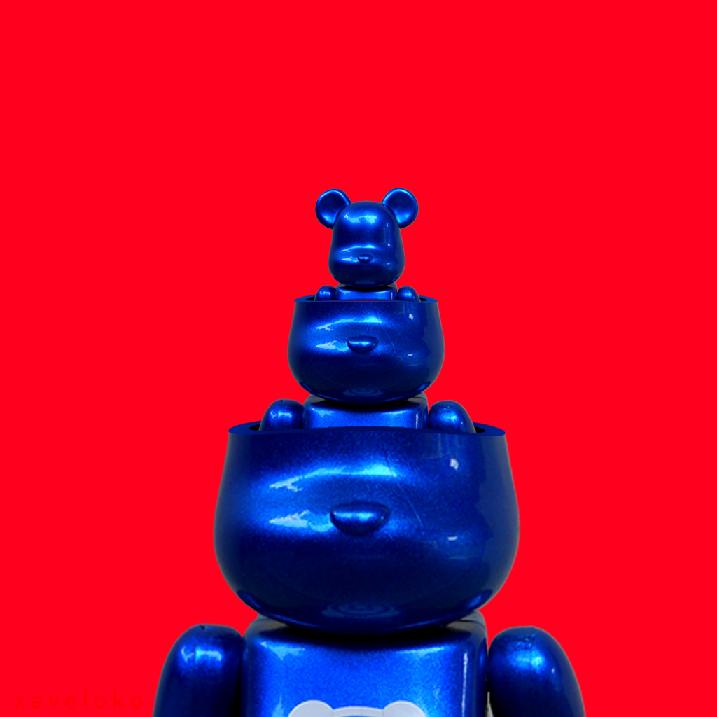 Bearbrick Ception 2.0 by xavierlokollo
