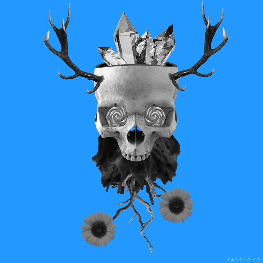 Crystal Skull  by xavierlokollo