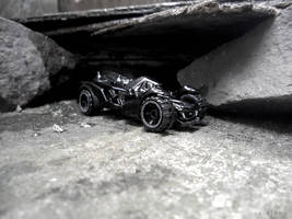 Batmobile Arkham by xavierlokollo