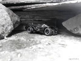 Batmobile Arkham Asylum by xavierlokollo