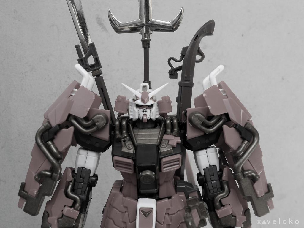 Musha Gundam by xavierlokollo