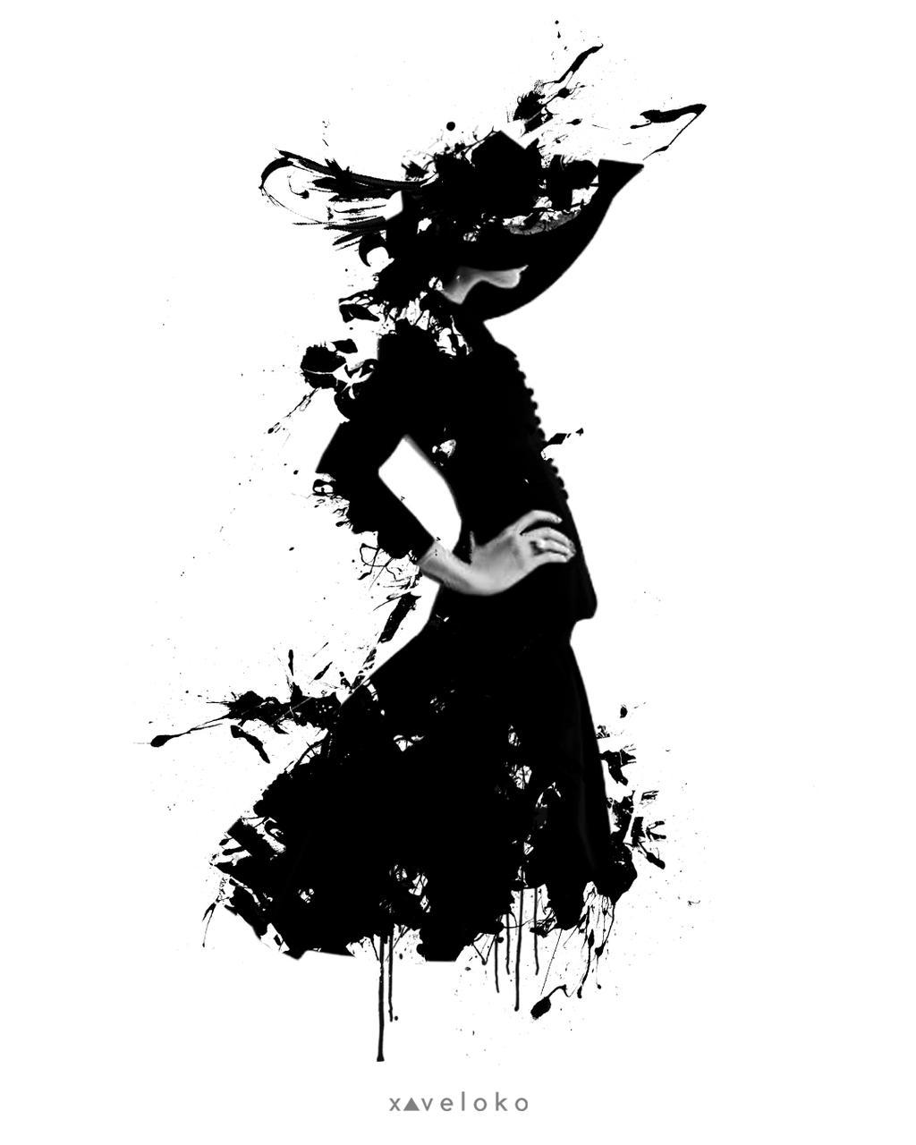 Little Black Drees  by xavierlokollo