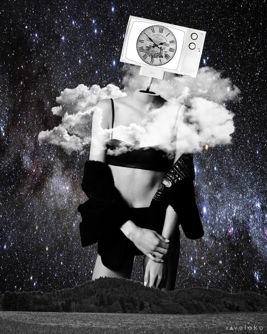 Nature Clock by xavierlokollo