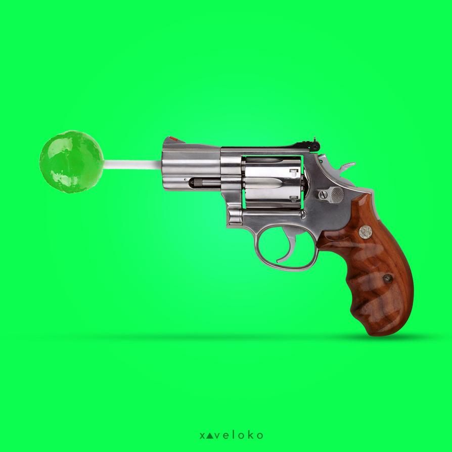 Sweety Revolver by xavierlokollo