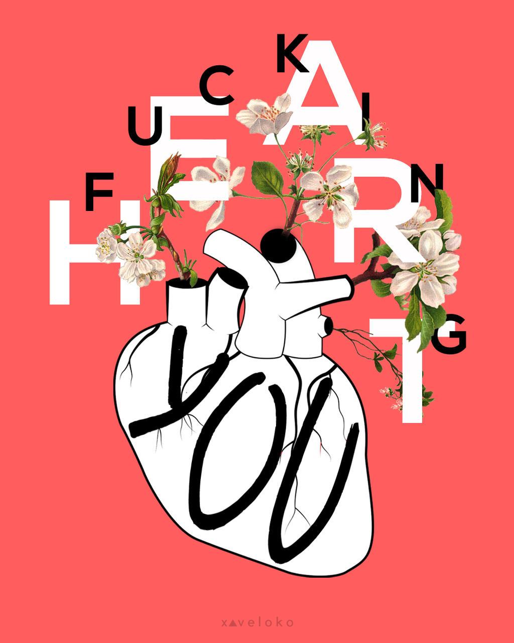 F Heart You by xavierlokollo