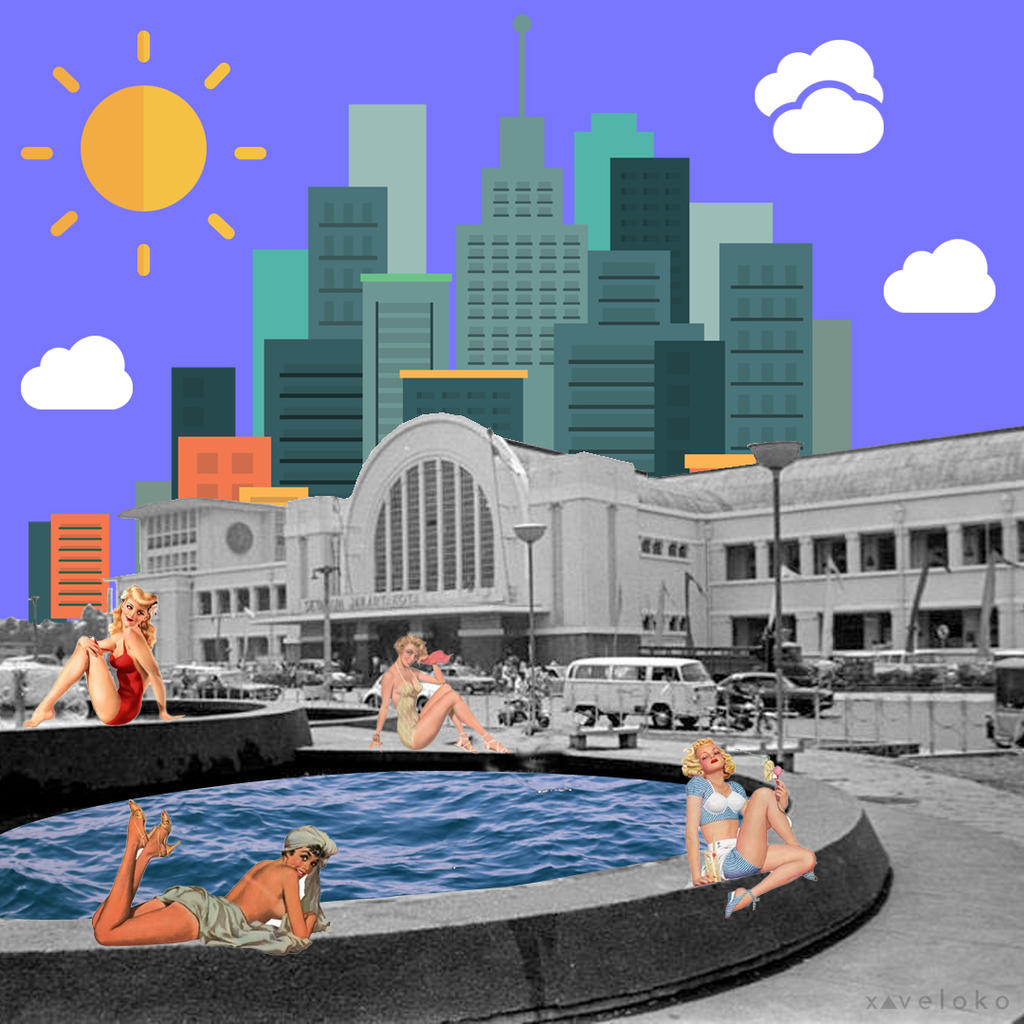 Public Pool  by xavierlokollo