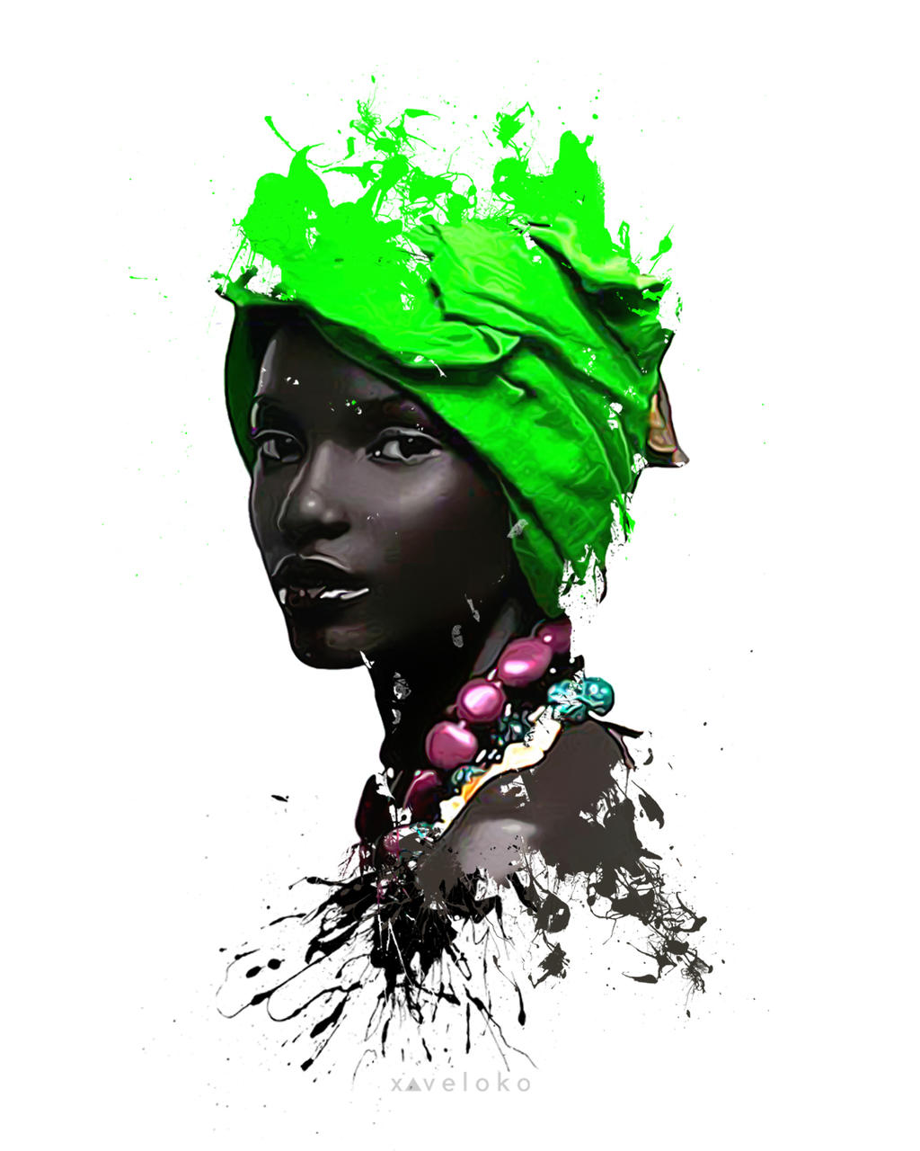 Head Wrap by xavierlokollo