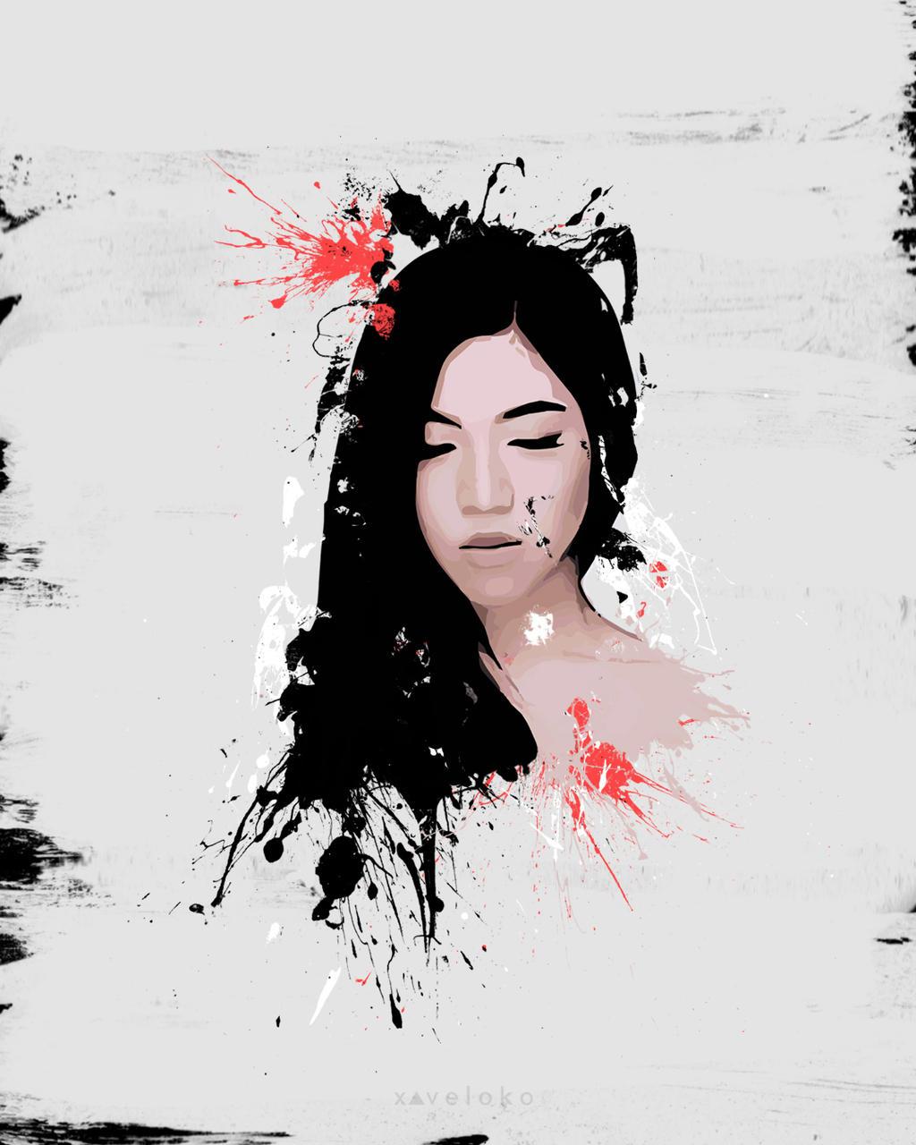 Monica Indah  by xavierlokollo