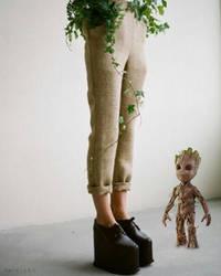 I am Groot 3 by xavierlokollo