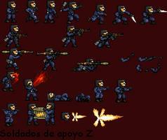 Soldados de Apoyo Z by ElGordoPija