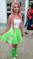 Fluttershy Equestria Girl Cosplay Anime Expo 2015