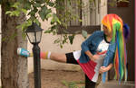 Rainbow Dash Equestria Girl Cosplay