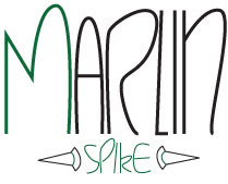 marlin spike logo by optic-art