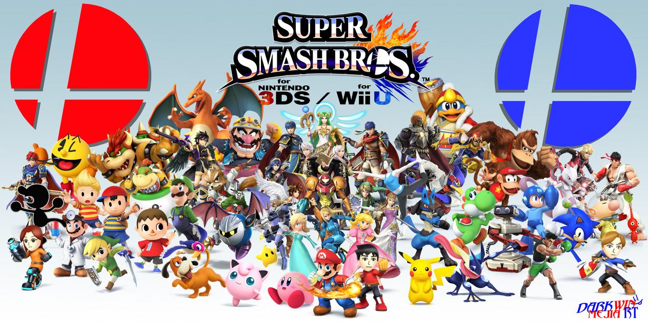 Super Smash Bros Wii U 3DS Wallpaper By DMRT DarkwinMejiaRT
