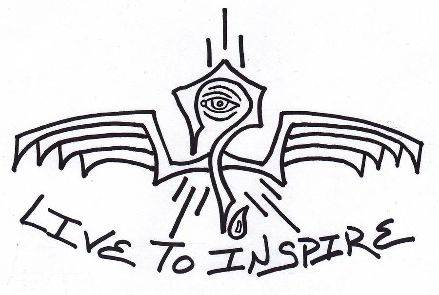 live to inspire tattoo 2 by lostacidjoker on deviantart. Black Bedroom Furniture Sets. Home Design Ideas