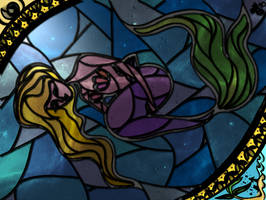 Mermaid Glass by TyraeClouds
