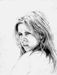 Buffy-Sarah M Gellar (Sketch-2)