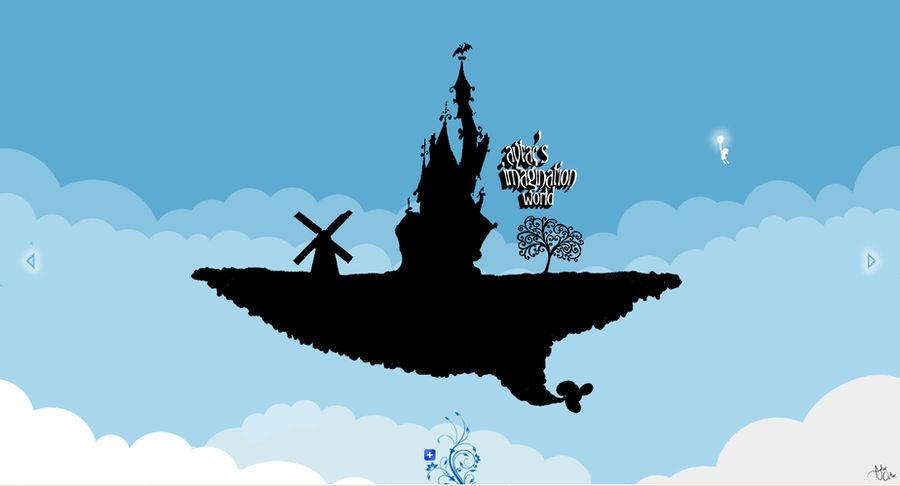 my imagination world