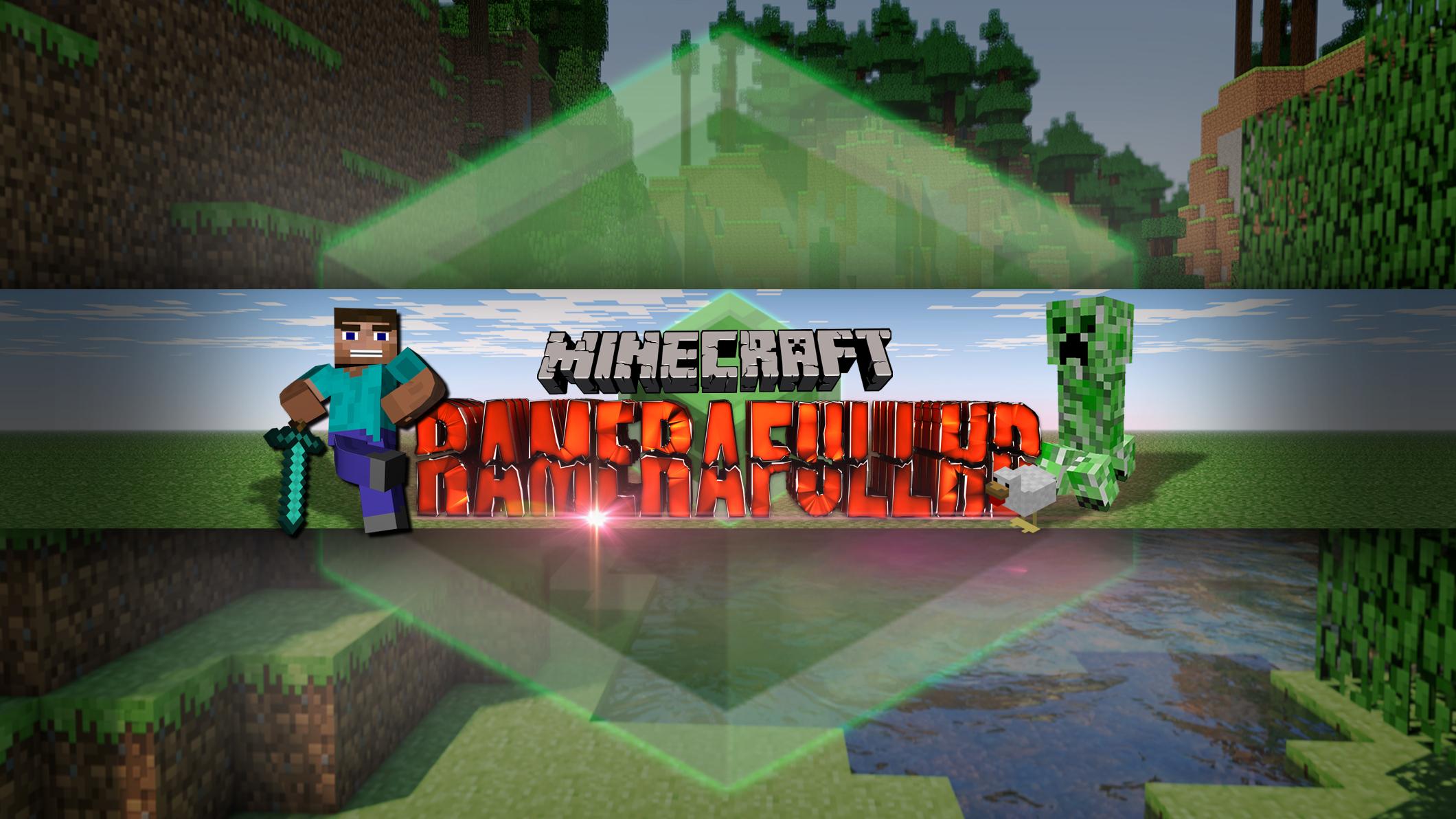 Banner De YT (Estilo Minecraft) Para: RameraFullHD By
