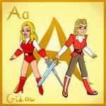 ADORA- ABC Fanart by GiLawTheSparky