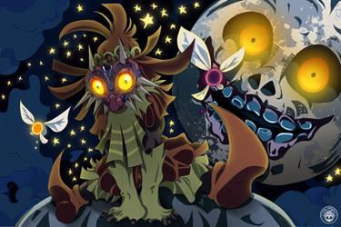 Majora's Mask by AUTAKU