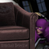 Armchair Detective by chrisdee