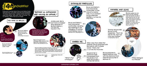 Batman and Catwoman Infographic by chrisdee