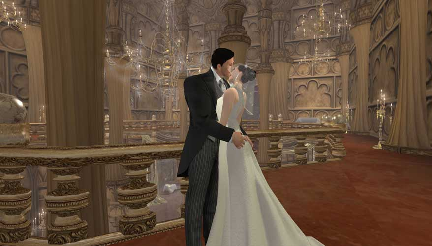 Bruce and Selina's Wedding by chrisdee