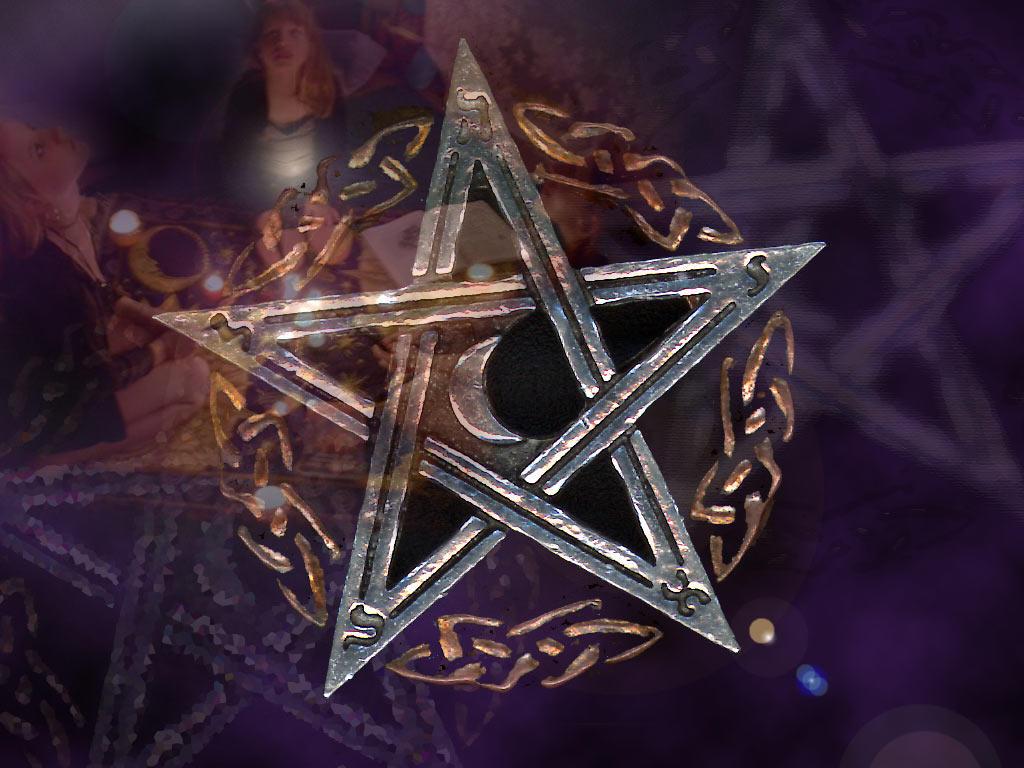 wiccan pentagram wallpaper - photo #20