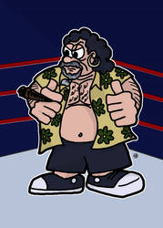 Captain Lou Albano by samuelwyoung