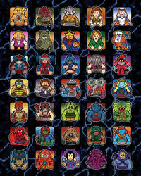 Masters of the Universe Poster {MOTU} by samuelwyoung