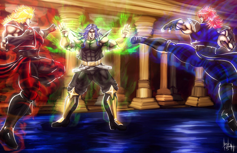 Shin Double Dragon Vs Shadow Master By Sirwolfgang On Deviantart