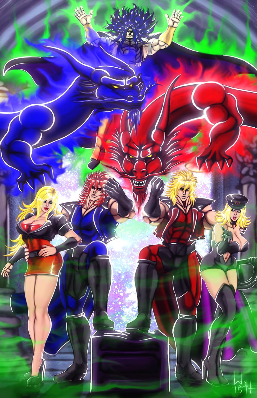 Shin Double Dragon Ii By Sirwolfgang On Deviantart
