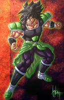 Broly Battle Form by SirWolfgang