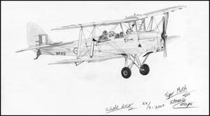 DeHavilland Tiger Moth DF112