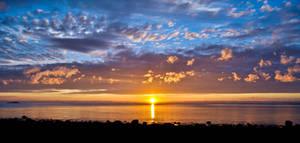 Summer Sunset by SindreAHN
