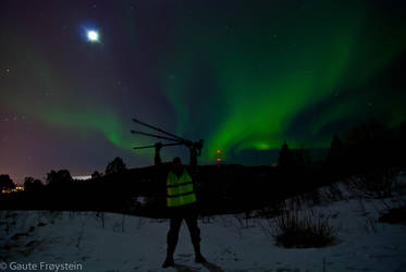 Me and my gear with Auroras by SindreAHN