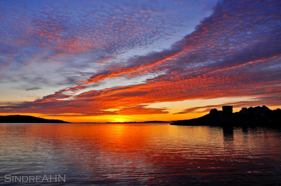 Sunset 13-8-2011 by SindreAHN
