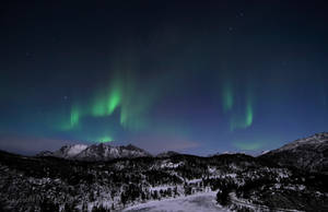 My First Auroras of 2012 by SindreAHN