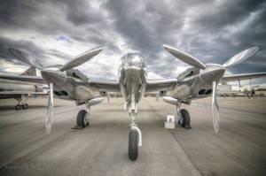 Red Bull P-38L by SindreAHN