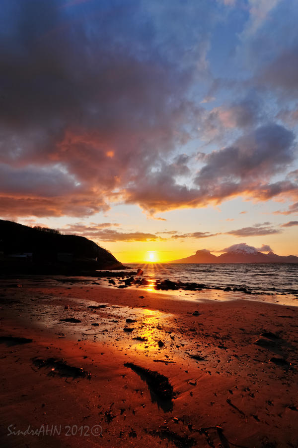 Skivika Sunset I by SindreAHN