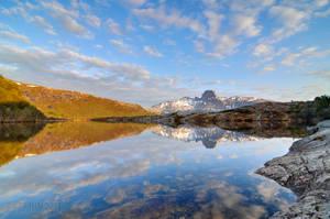 Nordlivatnet with Steigtind by SindreAHN