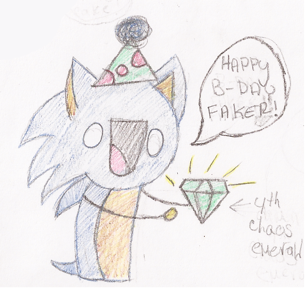 Happeh B-day Shadow! by Poptarts-Panda