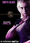 Mortal Kombat Movie - Sonya Blade Poster