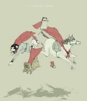 the legion of super-pets by louisroskosch