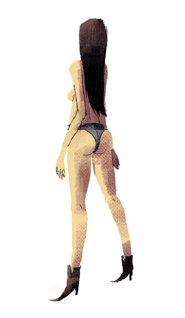 dat ass by louisroskosch