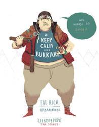 fat Rick - true stories by louisroskosch