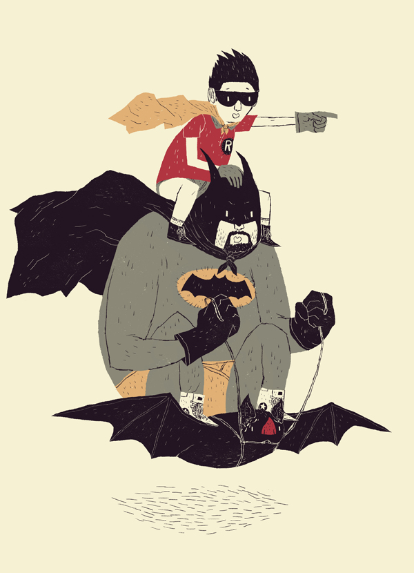 to the batmobile! by louisroskosch
