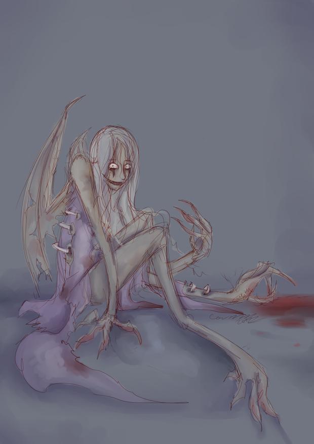 Monster Girl Challenge: Gruesome Girl by karimuffin