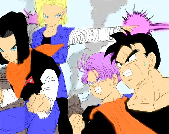 trunks defeats 17 and 18 dating